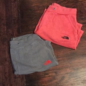 2 for 1!!! Men's the north face  sweat shorts